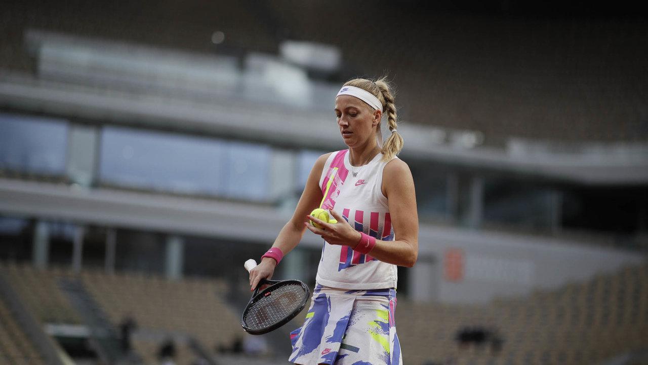 Finále tenisového French Open Petře Kvitové uniklo, vypadla v semifinále.