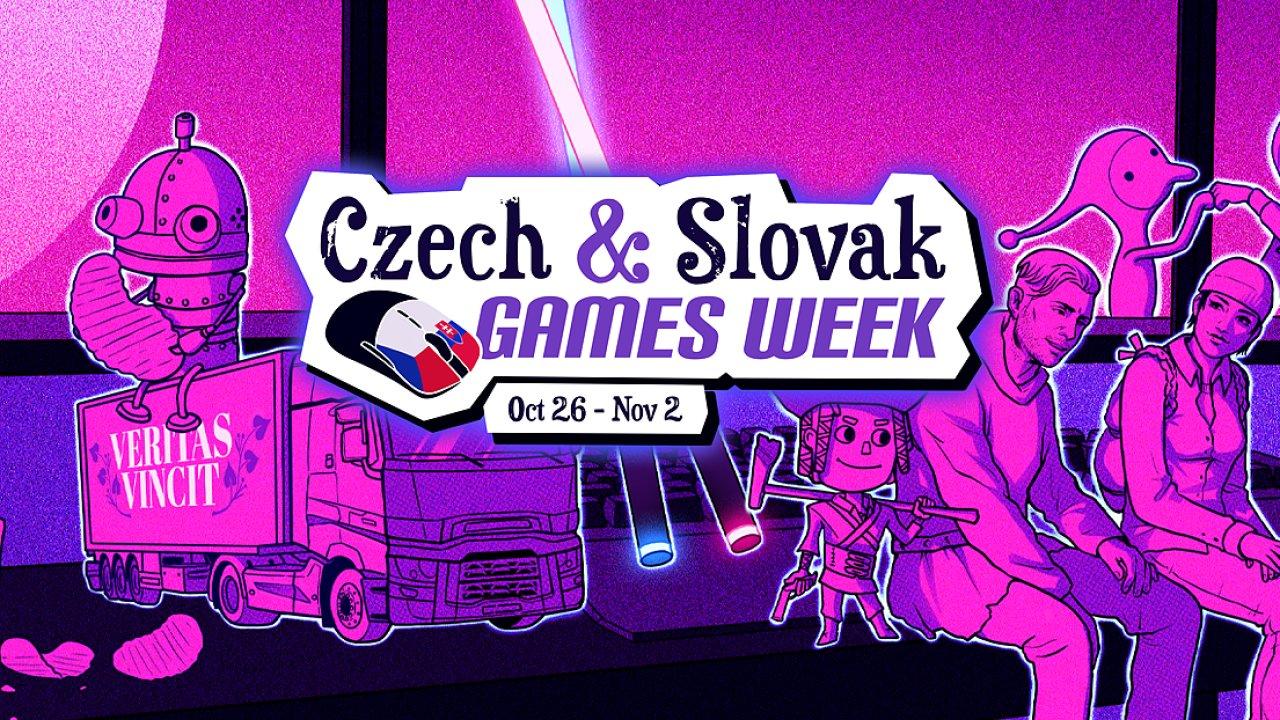 Týden českých a slovenských her na Steamu oslavuje vznik republiky.