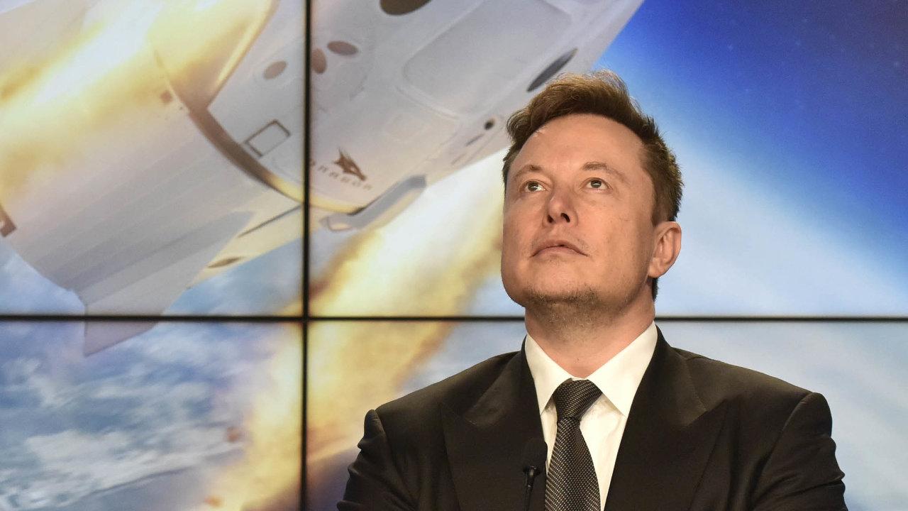 Vzniká nová spolupráce - NASA a SpaceX vizionáře Elona Muska.