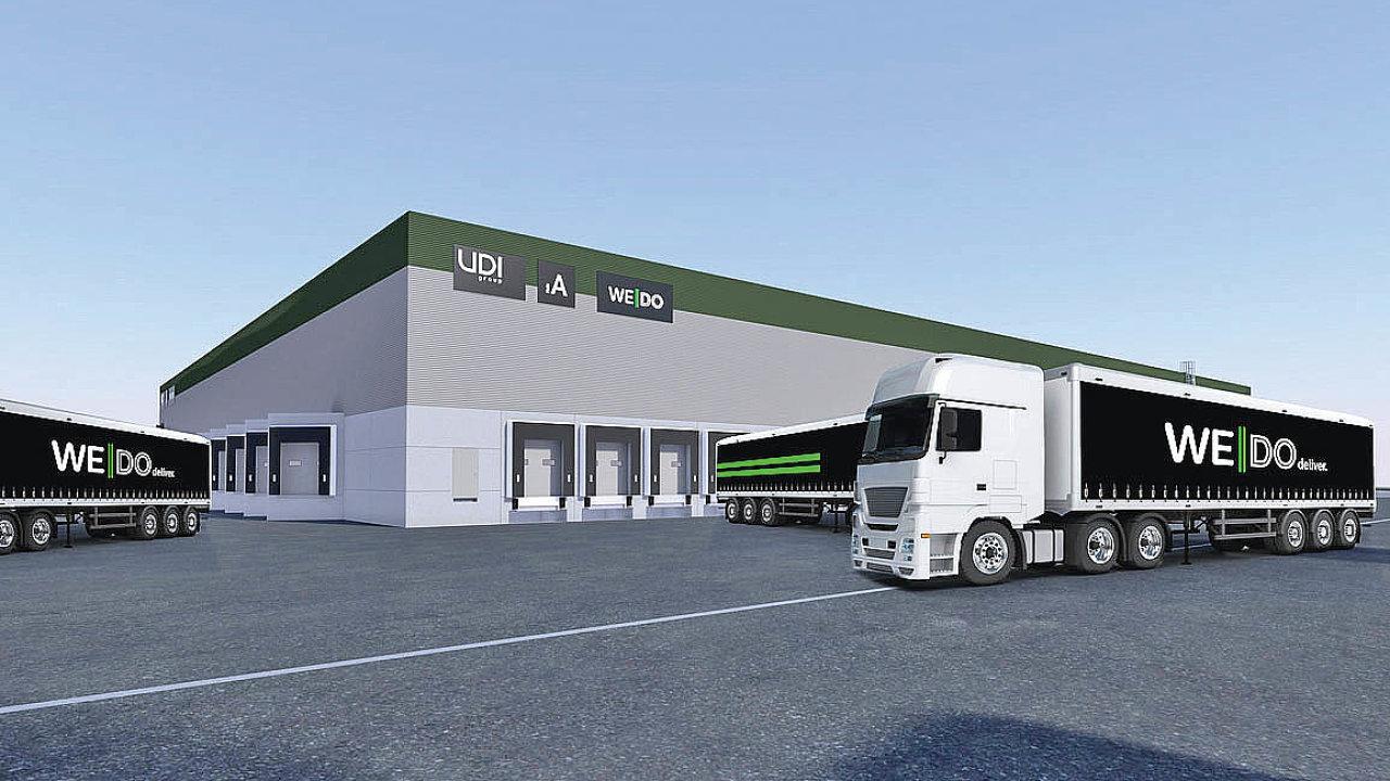 Logistický operátor WeDo investuje dozásadní modernizace arozšíření své přepravní sítě, ato prostřednictvím nového centrálního překladiště zásilek aregionálního depa, které nyní staví mezinárodní developer UDI Group.