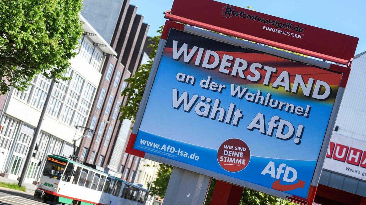 AfD, Německo, volby, plakát