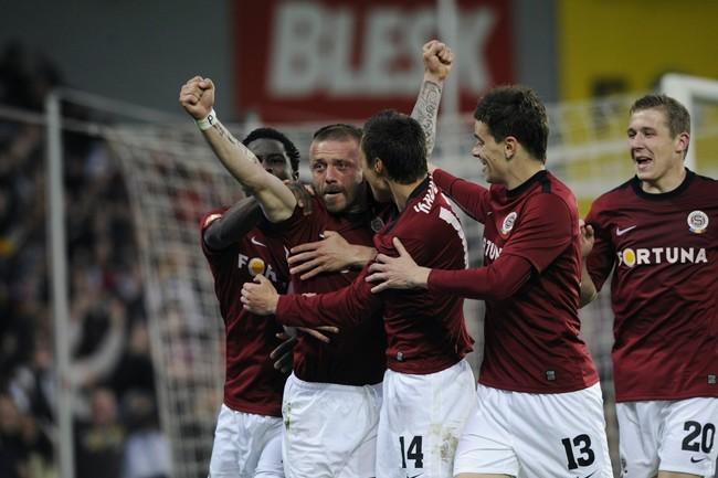 Sparta Praha vyhrála fotbalovou ligu