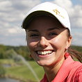 Golfistka Kl�ra Spilkov�.