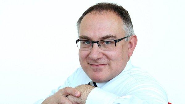 Generální ředitel a předseda představenstva Raiffeisenbank ČR Lubor Žalman.