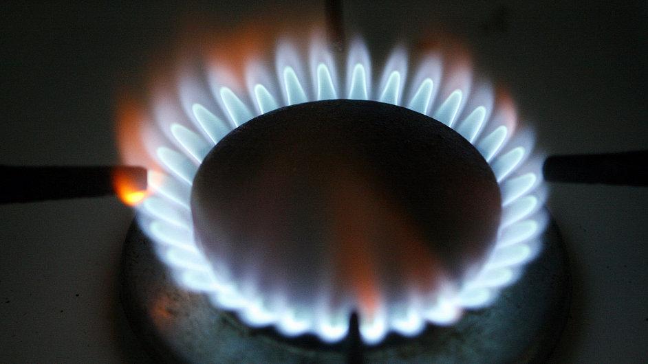Plynový hořák. Ilustrační foto