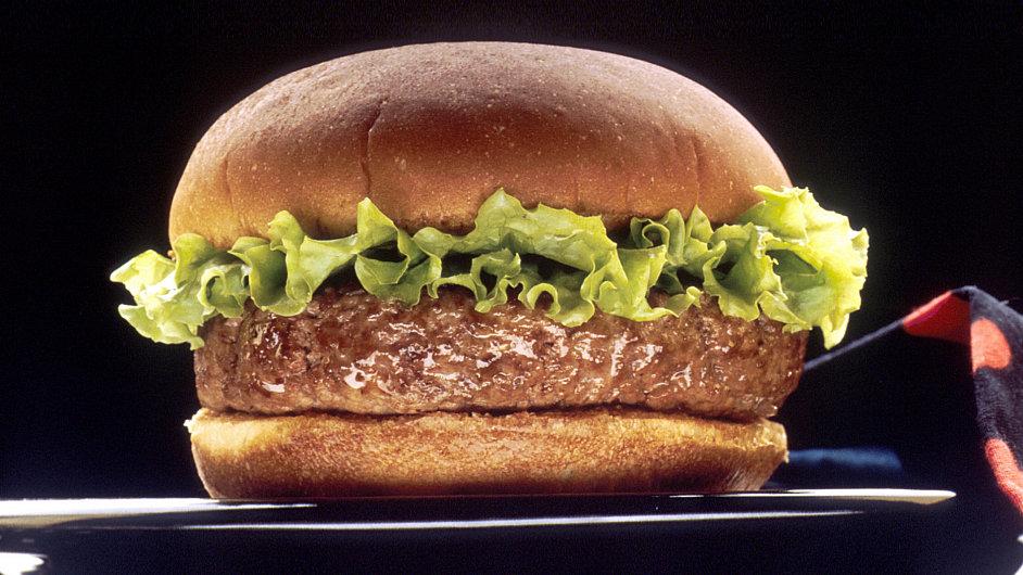 Hamburger. Ilustrační foto