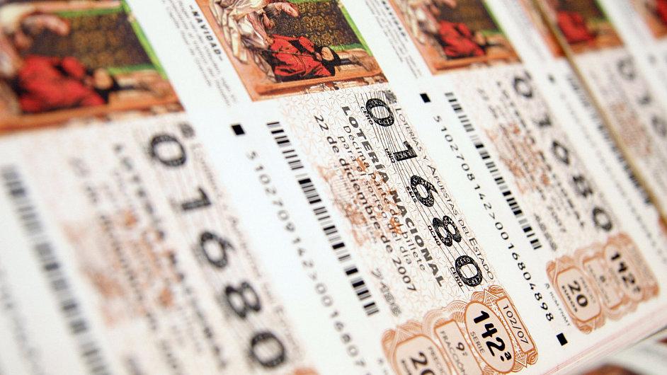 Vánoční loterie El Gordo