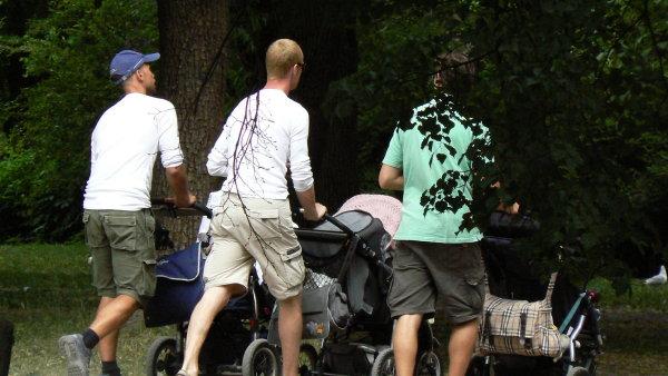 Čeští otcové zatím k dispozici otcovskou dovolenou nemají - Ilustrační foto.