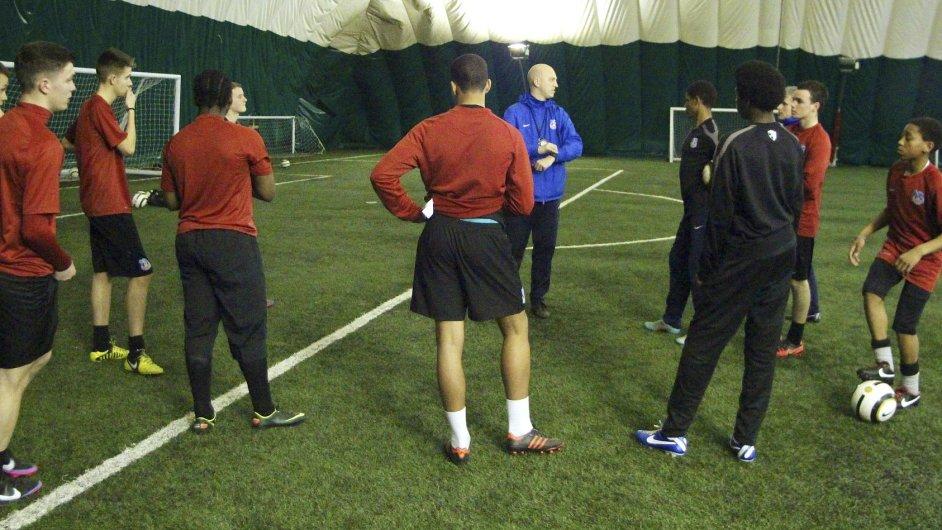 Fotbalová akademie (ilustrační foto)
