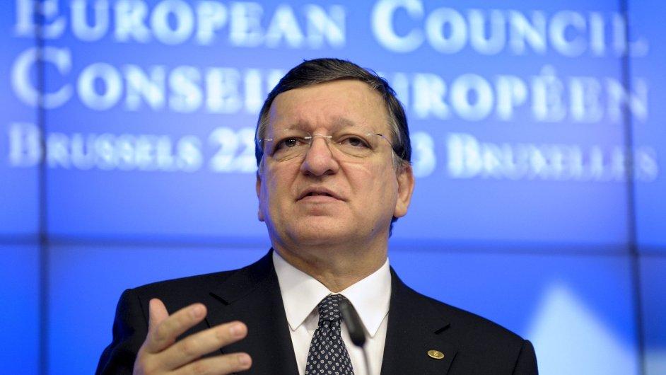 Předseda Evropské komise José Barroso