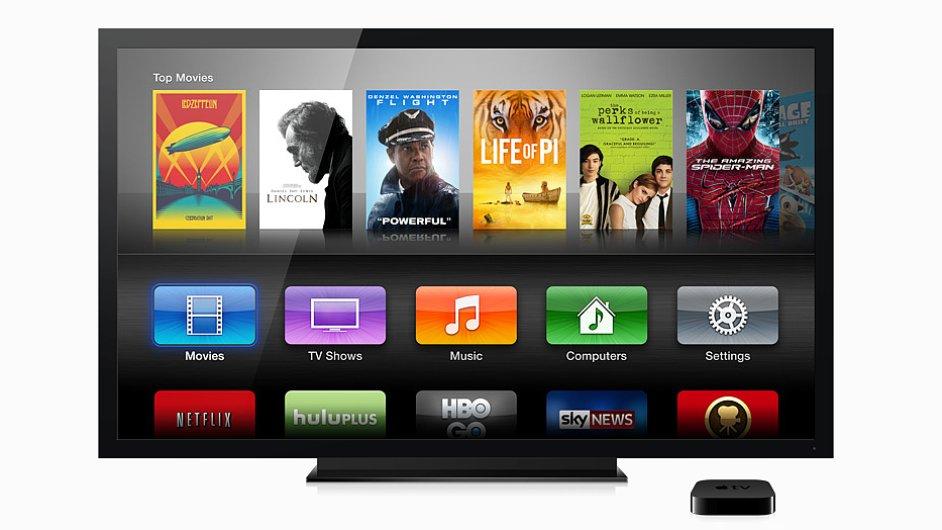 Apple TV je zatím jen malá krabička vedle televizoru