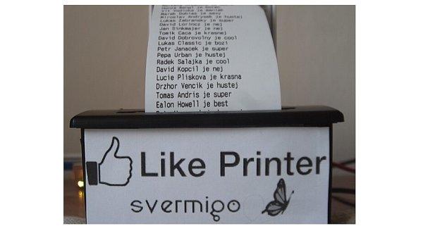 Igiho tiskárna na lajky