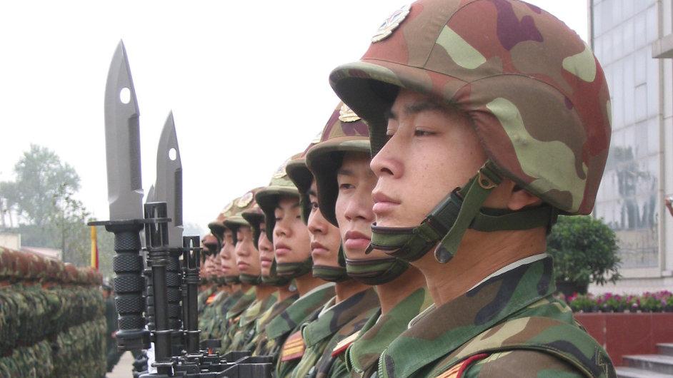 Čínská armáda, ilustrační foto.