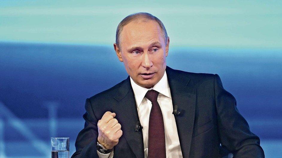 Vystoupení Vladimira Putina v ruské televizi