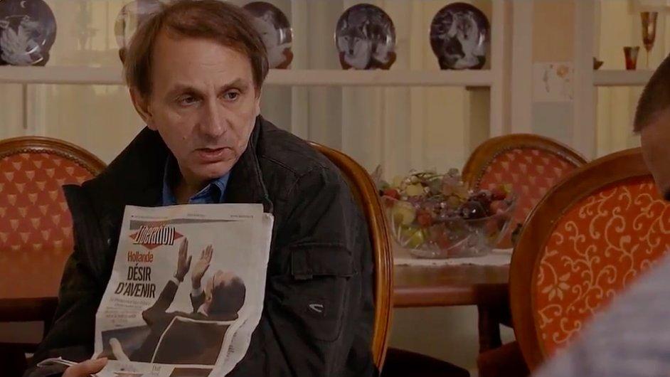 Spisovatel Houellebecq hraje v novém filmu sám sebe.