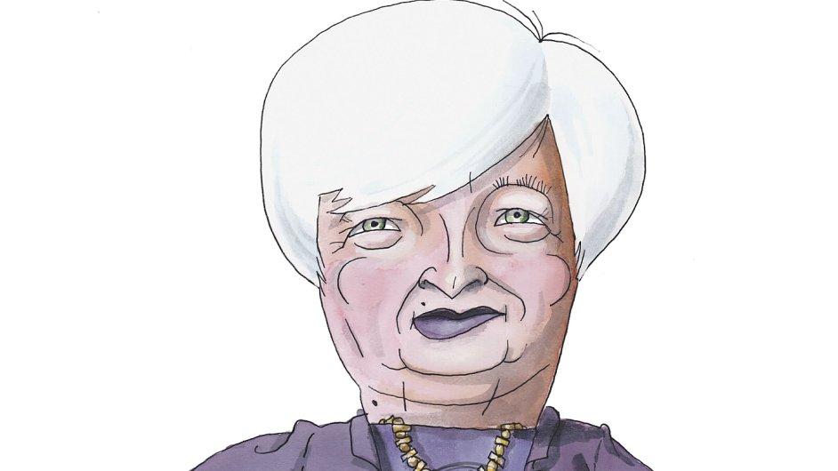Janet Yellenova Z Holubice Jestrabem Hospodarske Noviny Ihned Cz