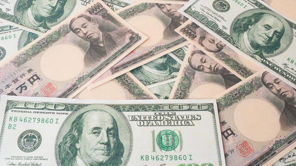 Jen je vůči dolaru na šestiletém minimu