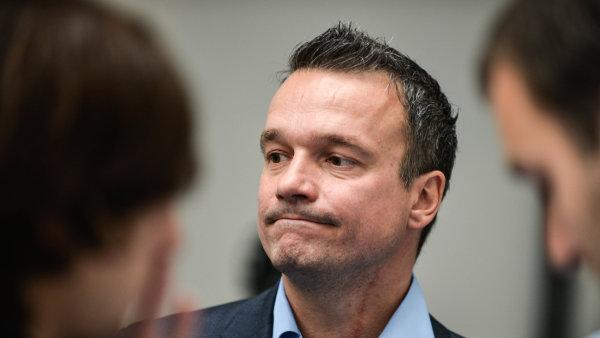 Filip Humplík, šéf občanských demokratů v Praze.