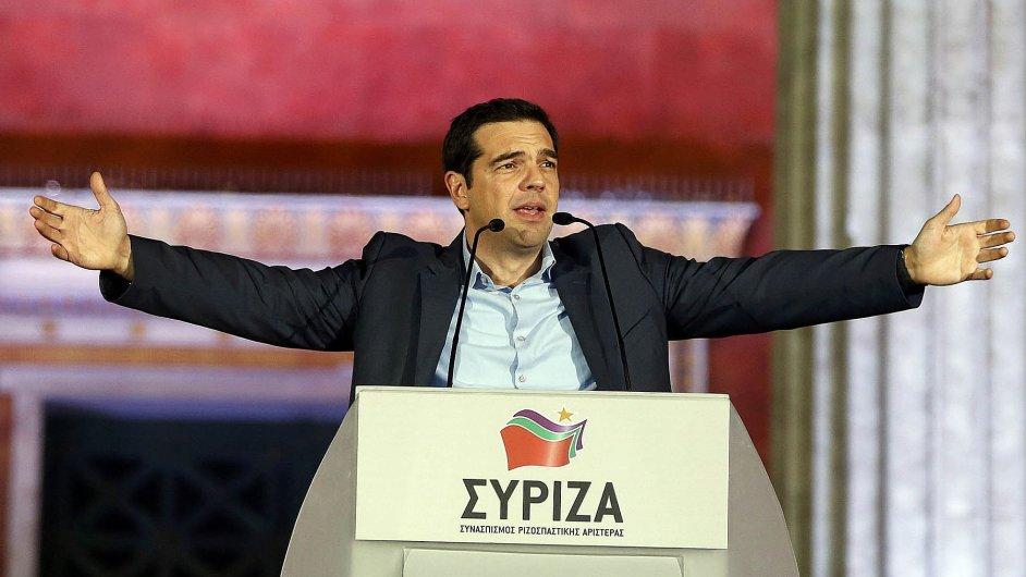 Nový řecký premiér Alexis Tsipras