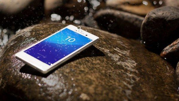 Xperia M4 Aqua: Sony v Barcelon� propaguje koup�n� s elektronikou