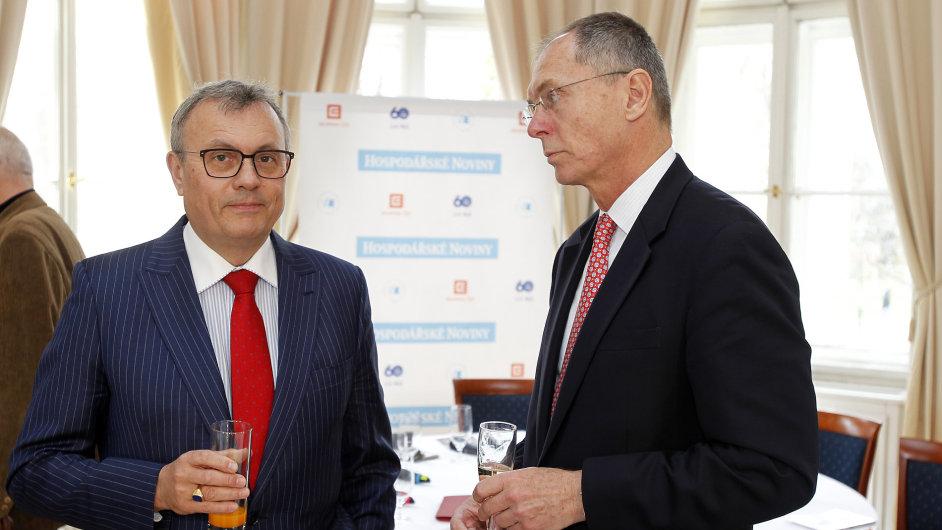 Vladimír Dlouhý a Jan Švejnar