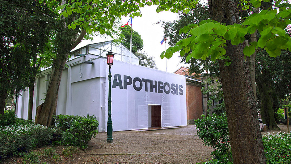 Davidův projekt Apoteóza se návštěvníkům Benátského bienále otevírá ve čtvrtek.