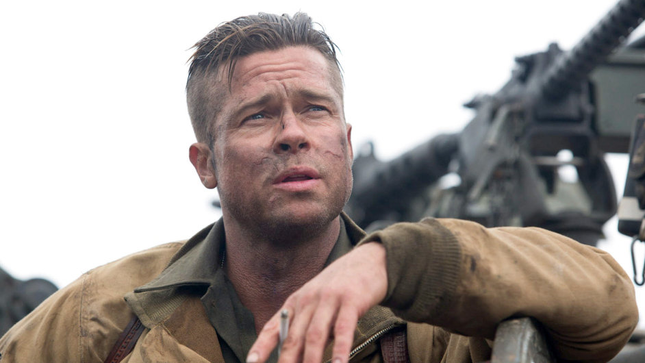 Z válečných filmů si Brad Pitt vloni zahrál ve snímku Železná srdce.