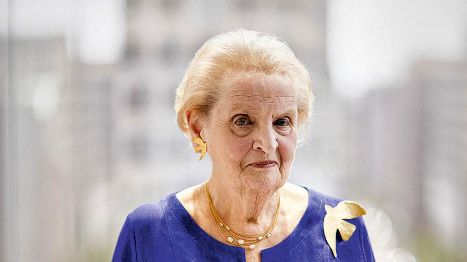 Madeleine Albrightové si velmi váží kardiolog Josef Veselka i novinář Jakub Železný.