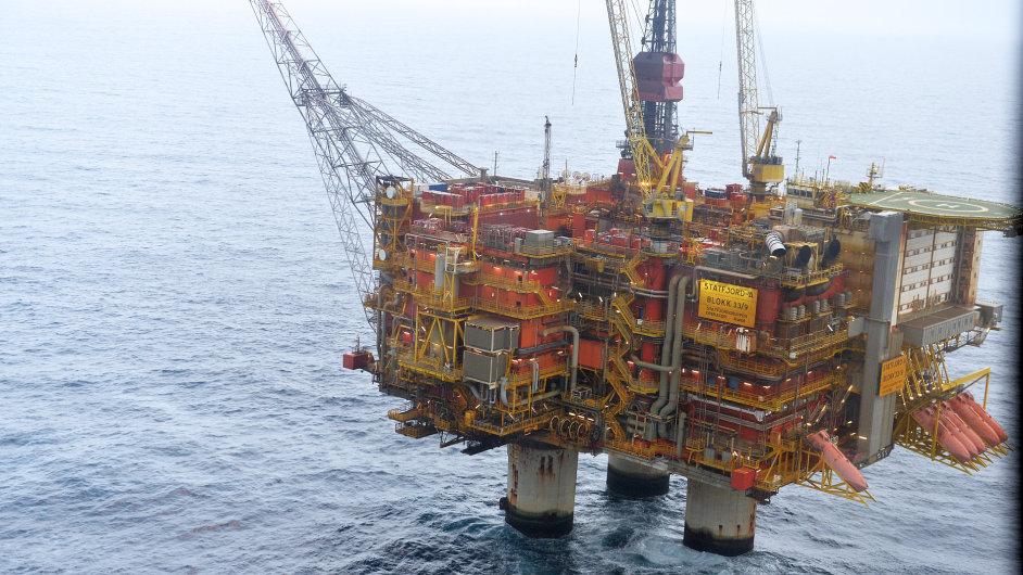 Ropná plošina Statfjord společnosti Statoil