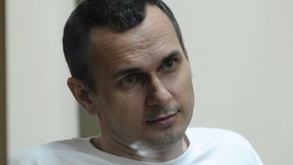 Ukrajinský režisér Sencov nesouhlasil s ruskou anexí Krymu.