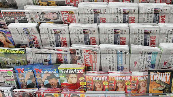 Denní tisk v trafice
