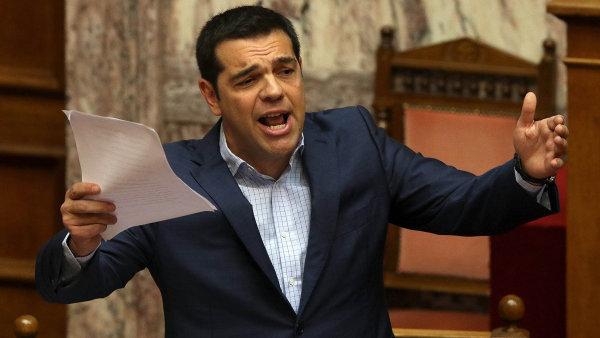 �eck� premi�r Alexis Tsipras odm�t� vyhov�t v��itel�m ohledn� d�chod� - Ilustra�n� foto.