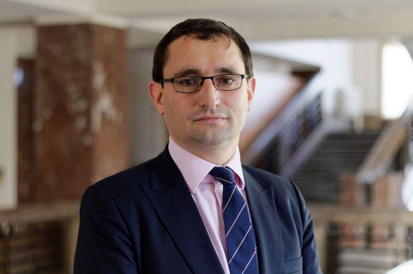 Náměstek ministra financí Tomáš Vyhnánek.