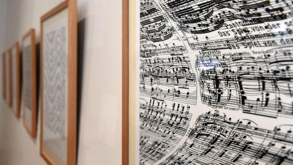 Snímek z výstavy Eduarda Ovčáčka