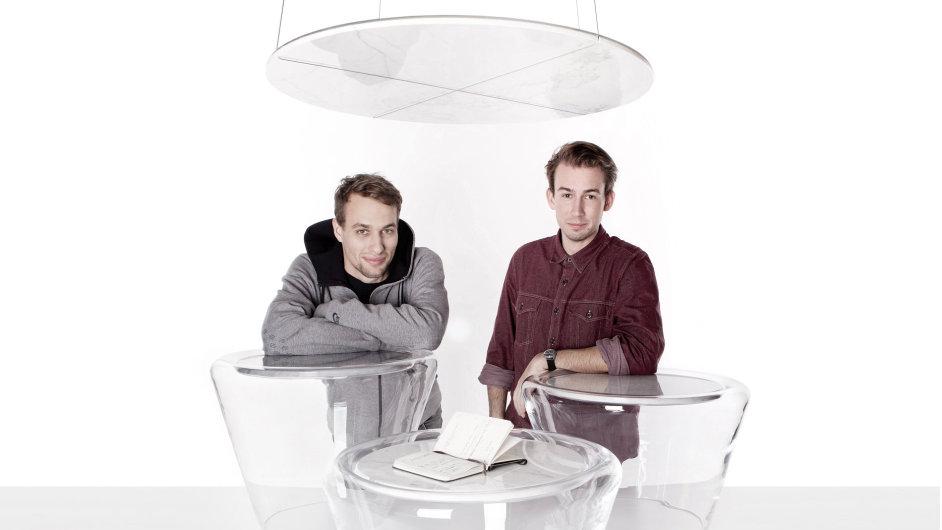 Designéry Václava Mlynáře (vlevo) a Jakuba Pollága svedl dohromady Designblok 2011.