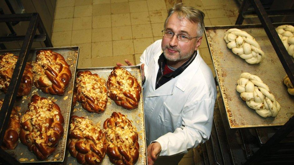 Jíří Bláha jako živnostník roku 2010 pekárna Liberec byznys class
