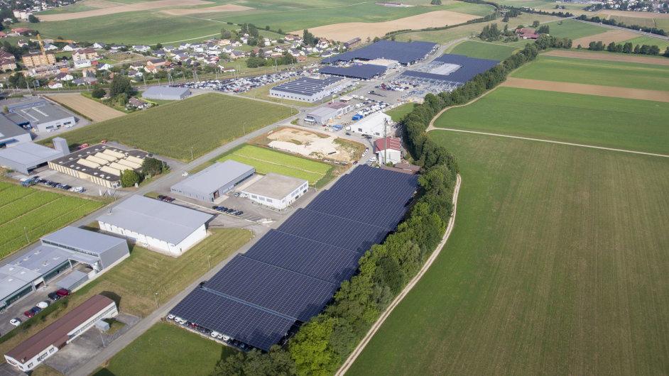 Logistické centrum jako solární elektrárna?