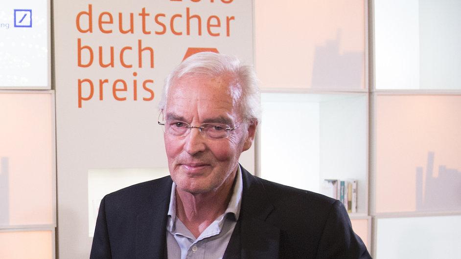 Bodo Kirchhoff převzal Německou knižní cenu minulý týden na Frankfurtském knižním veletrhu.