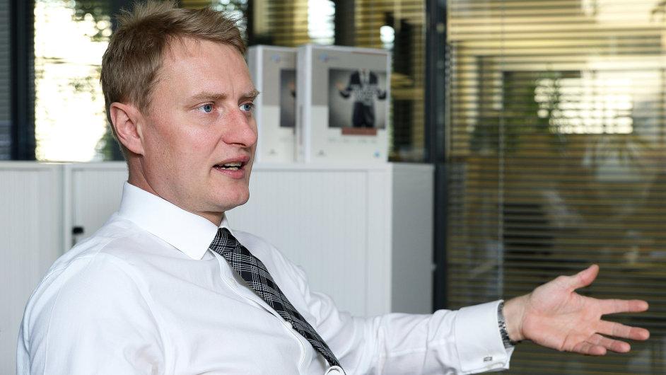 Vladislav Nožička, výkonný ředitel útvarů Specializovaného financování ČSOB a expert ČSOB na rizika pro korporátní klienty.