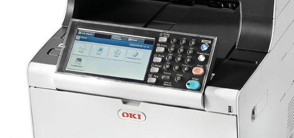 7 palcový barevný dotykový panel OKI MC573