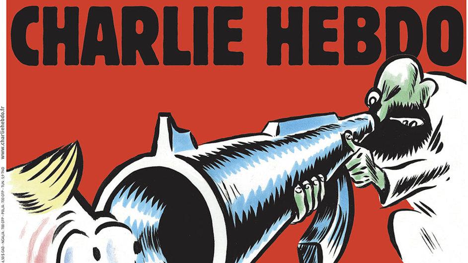 2017: Konečně světlo nakonci tunelu, hlásá titulní strana speciálního vydání Charlie Hebdo, jež vyšlo tuto středu.