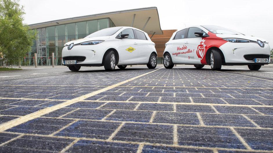 Solární silnice ve Francii