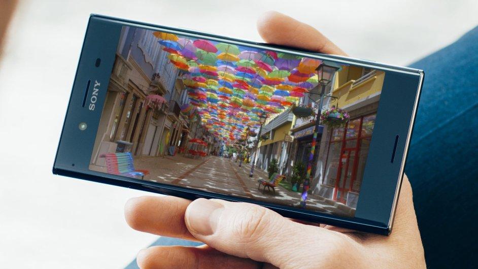 Sony Xperia XZ Premium se 4K obrazovkou