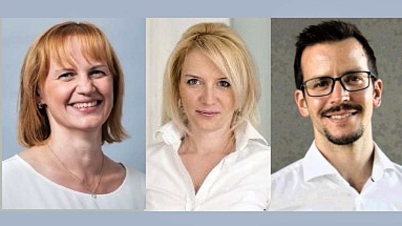 Vladimíra Chlandová, Vanda Kellerová a Martin Orgoník, právní a regulační útvar společnosti T-Mobile
