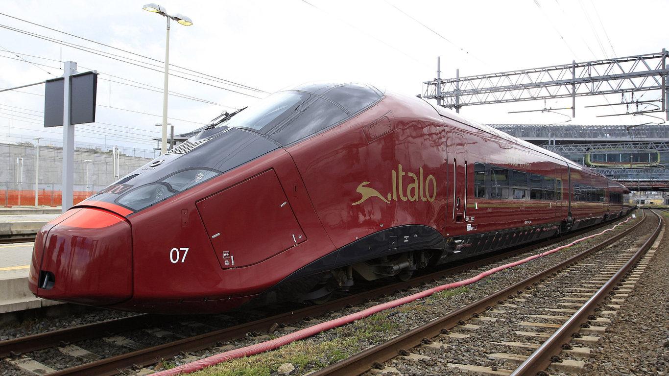 Itálie, rychlovlak Italo společnosti NTV