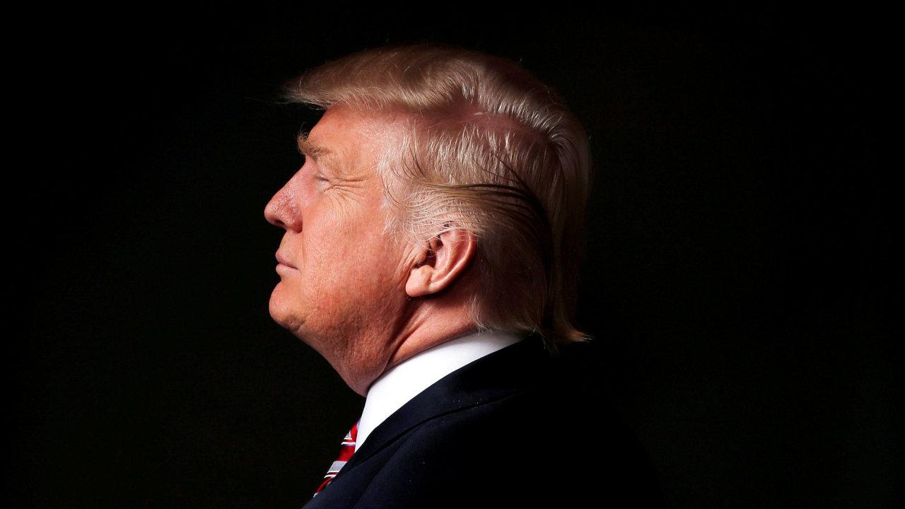 Hrdý Donald Trump.