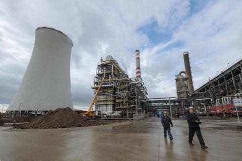 Chempark, Unipetrol, chemička, bunkr, válka, Záluží, 5.10.2017
