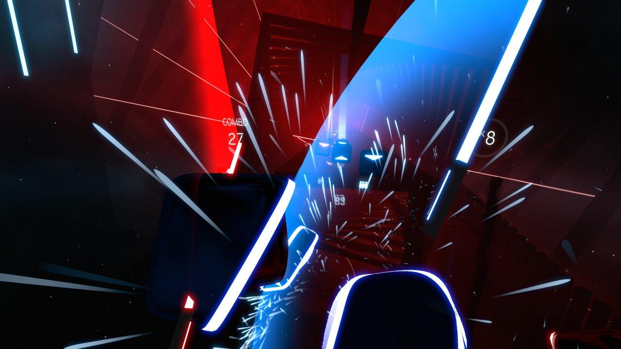Beat Saber je povedená česká rytmická hra pro virtuální realitu.