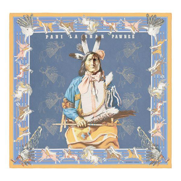 Šátek z kolekce Hermes pro podzim/zimu 2018/2019
