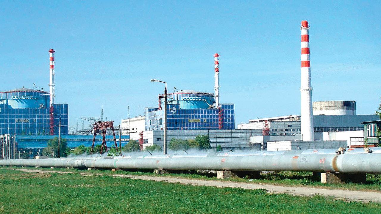 VChmelnické elektrárněse podařilo dokončit jen dva bloky. Třetí ačtvrtý jsou už třicet let rozestavěné.